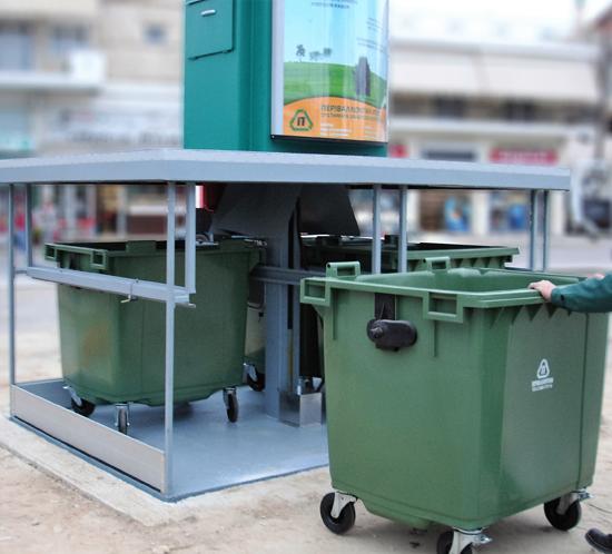 Подземные мусорные контейнеры – инновации