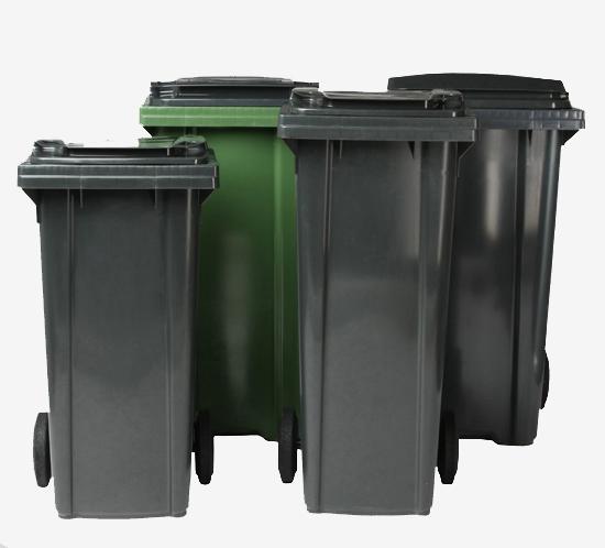 Двухколесные мусорные контейнеры,Четырехколесные мусорные контейнеры